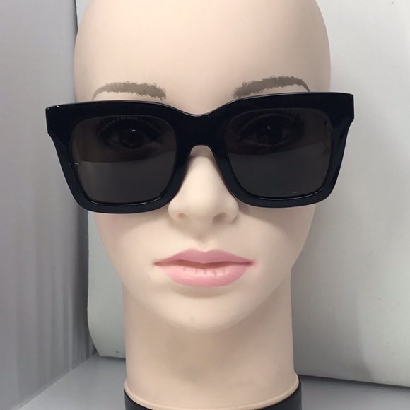 4d0dbfada1355 Celine Accessories - Celine CL 41411 F S 807 NR Black Luca Sunglasses